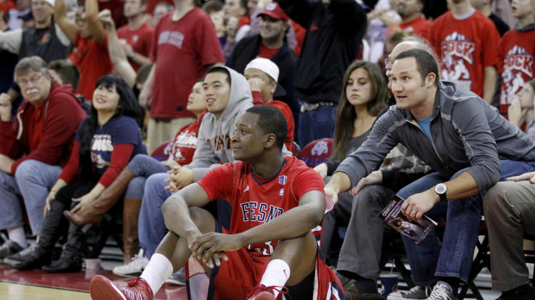 NCAA Basketball: San Diego State at Fresno State