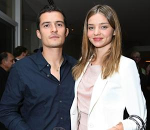 Orlando Bloom and Miranda Kerr at Audi's celebration of the arrival of TDI clean diesel technology held on June 23, 2009 in Beverly Hills, Calif. -- WireImage