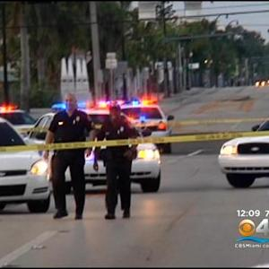 Body Found In Pool Of Blood On Miami Sidewalk