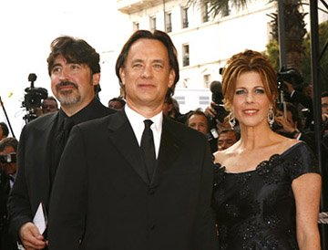 "Alfred Molina, Tom Hanks and Rita Wilson ""The Da Vinci Code"" Premiere - 5/17/2006 2006 Cannes Film Festival"