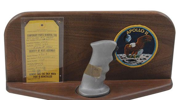 Neil Armstrong's 'Heartbeat,' Apollo Joystick Pulled from Auction
