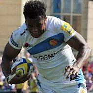 Sireli Naqelevuki scored a try as Exeter defeated Harlequins