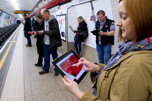 Virgin Media London Underground wi-fi to no longer be free for all ...
