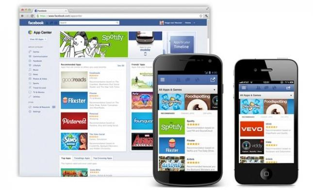Facebook's App Center comes online