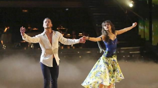 Zendaya Coleman and her pro partner Val Chmerkovskiy on 'Dancing with the Stars' on March 18, 2013 -- ABC