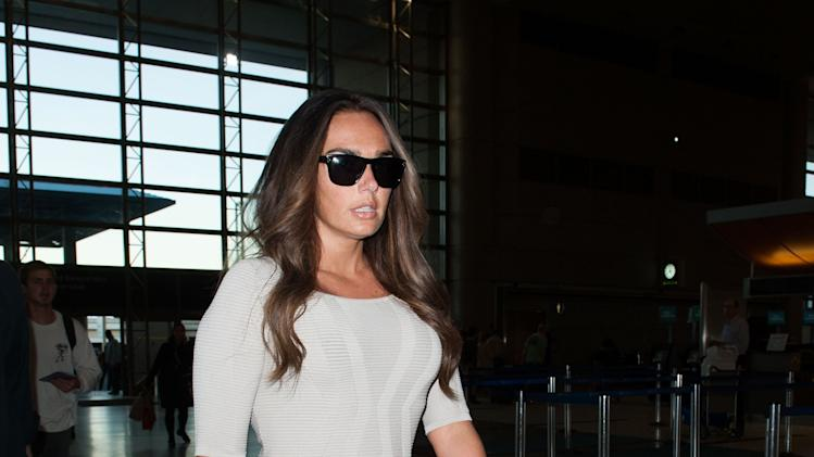 Tamara Ecclestone Departs From Los Ingeles International Airport