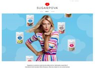Maria Sharapova debuted her candy line this week in New York