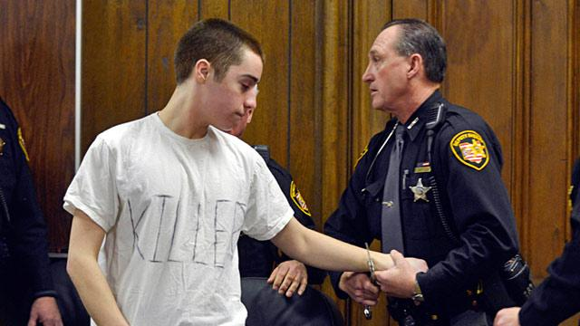 Ohio School Shooter TJ Lane Laughs, Gives Finger at His Sentencing