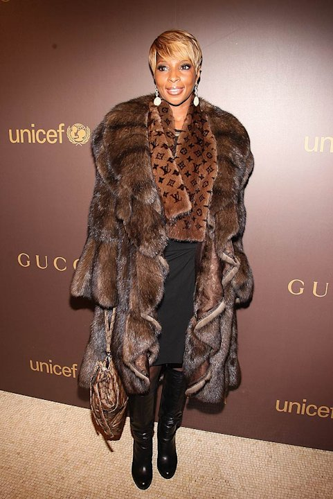 Blige MaryJ Gucci Unicef Evnt