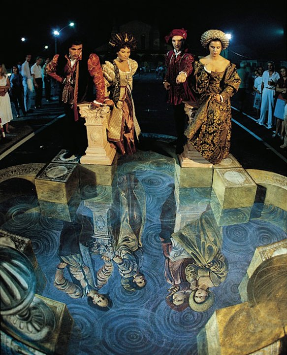 'Reflections' by Kurt Wenner