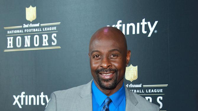 Former NFL player Jerry Rice arrives at the 2nd Annual NFL Honors, on Saturday, Feb. 2. 2013 in New Orleans (Photo by Dario Cantatore/Invision/AP)