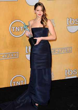 Jennifer Lawrence SAG Dior dress