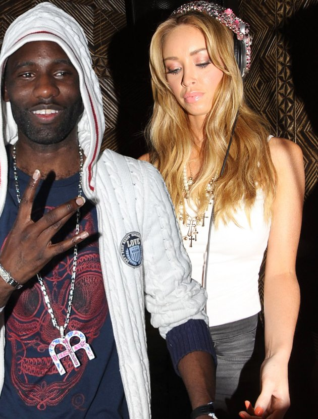 Wretch 32 dating Lauren Pope