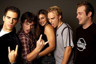 Eli Roth, Rider Strong, Cerina Vincent, Joey Kern, James DeBello Cabin Fever Toronto Film Festival - 9/13/2002