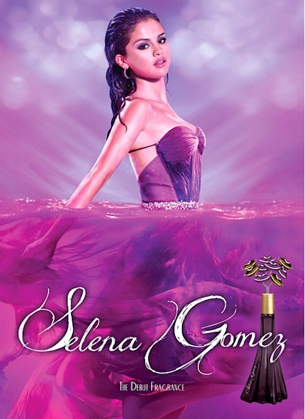 Soaking Wet Selena Gomez Poses in Sexy Fragrance Ad