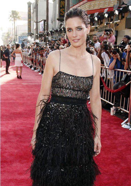 XFiles I Want to Believe Hollywood Premiere 2008 Amanda Peet