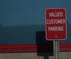 The Key to Understanding Your Customers image Valued Customer Sign