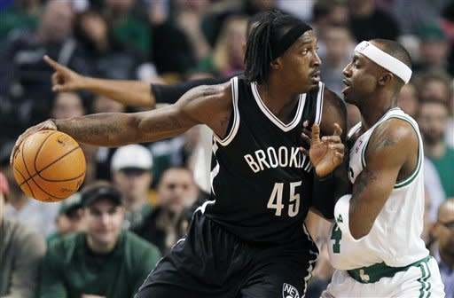 After Rondo ejected, Nets beat Celtics 95-83