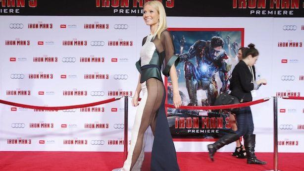 Gwyneth's Dress Was Barely a Dress