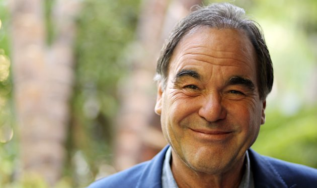 In this Friday, June 15, 2012 photo, director, Oliver Stone, poses for a portrait in Beverly Hills, Calif. Stone is taking his passion for marijuana to the big-screen with his new drug-war thriller film &quot;Savages.&quot; (Photo by Matt Sayles/Invision/AP)