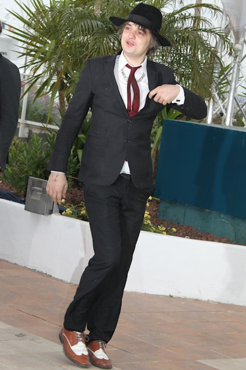 pete doherty cannes 2012