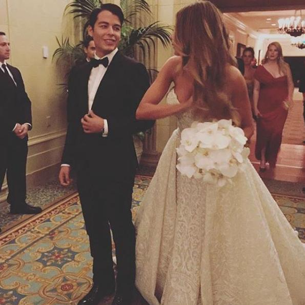 Sofia Vergara's Son Brought Taylor Swift to the #Jofia Wedding