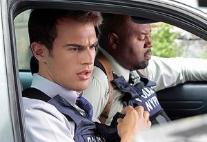 Theo James, Chi McBride | Photo Credits: Giovanni Rufino/CBS
