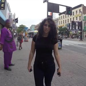 Woman Hears Over 100 Cat Calls Walking Through NYC