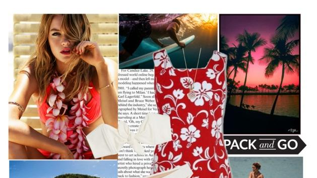 Top trend: Hawaiian print