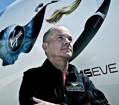 Virgin Galactic Hires Former NASA Astronaut as Spaceship Pilot