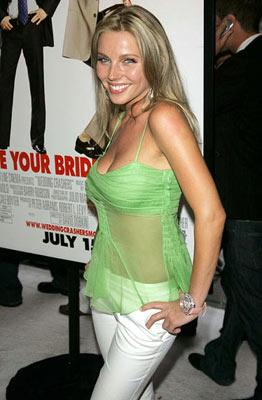 Ivana Bozilovic at the New York premiere of New Line Cinema's Wedding Crashers