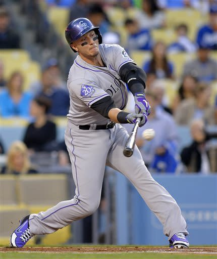 Tulo and CarGo help Rockies beat Dodgers 7-3