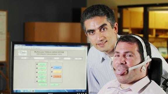 Tongue-Controlled Wheelchair Helps Paralyzed People Move