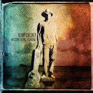 "This CD cover image released by Columbia Nashville shows the latest release by Kenny Chesney, ""Welcome to the Fishbowl."" (AP Photo/Columbia Nashville)"