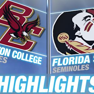 Boston College vs Florida State | 2014 ACC Football Highlights