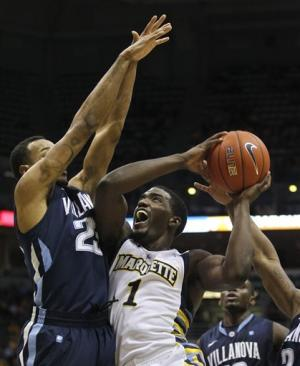 No. 14 Marquette beats Villanova 81-77