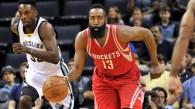 James Harden shows up pesky Maurice Ndour