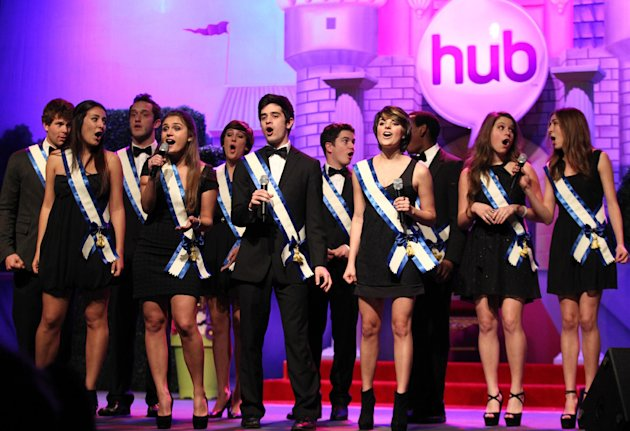 The SoCal VoCals perform during The Hub TV Network's &quot;My Little Pony Friendship is Magic&quot; Coronation Concert at the Brentwood Theatre on Saturday, Feb. 9, 2013, in Los Angeles in support of Children's