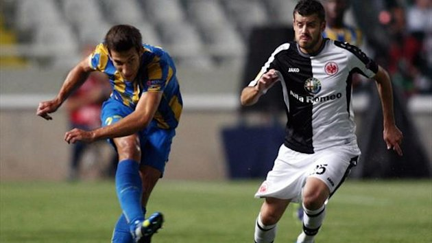 Video: APOEL vs Eintracht Frankfurt
