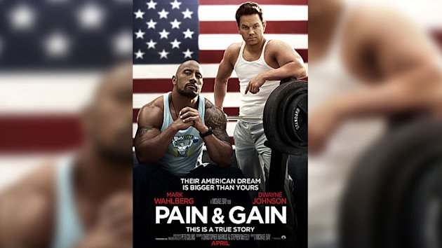 Wahlberg & Johnson Flex For &#39;Pain & Gain&#39;