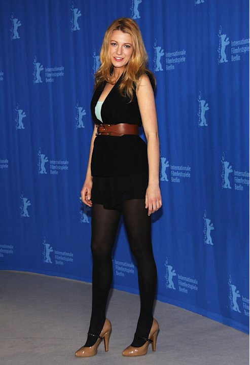 Blake Lively attends the photocall for 'The Private Lives of Pippa Lee' as part of the 59th Berlin Film Festival at the Grand Hyatt Hotel on February 9, 2009 in Berlin, Germany.