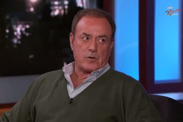 Deflategate 'Is Insane,' Says NFL Commentator Al Michaels on 'Jimmy Kimmel Live' (Video)