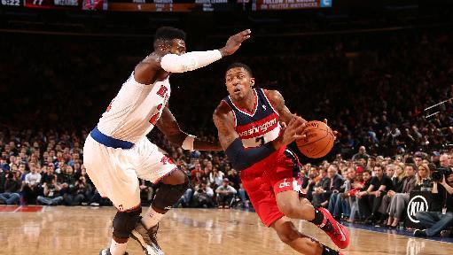 Beal's jumper, Anthony's miscues help Wizards win