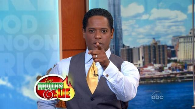 Blair Underwood Plays 'GAA' Two Truths and a Lie