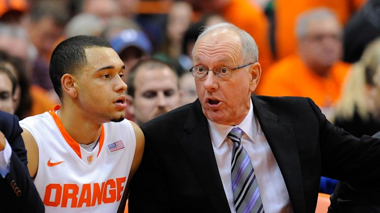 NCAA Basketball: Notre Dame at Syracuse