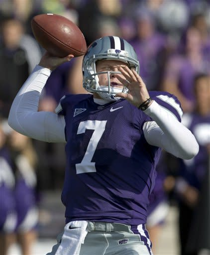 No. 4 K-State routs No. 15 Texas Tech, 55-24