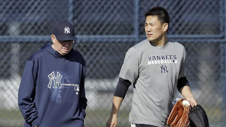 Tanaka throws first bullpen for Yankees