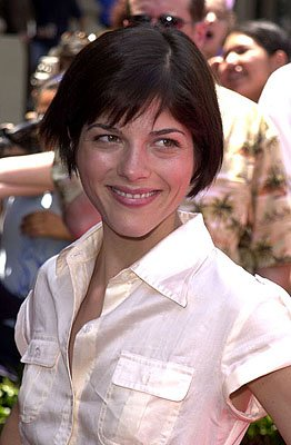 Selma Blair at the Hollywood premiere of Walt Disney's The Princess Diaries