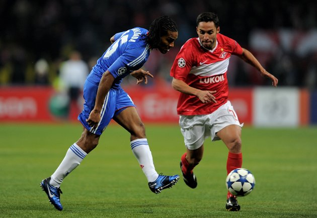 Ibson at Spartak Moscow, not being forgotten by Florent Malouda (Getty)