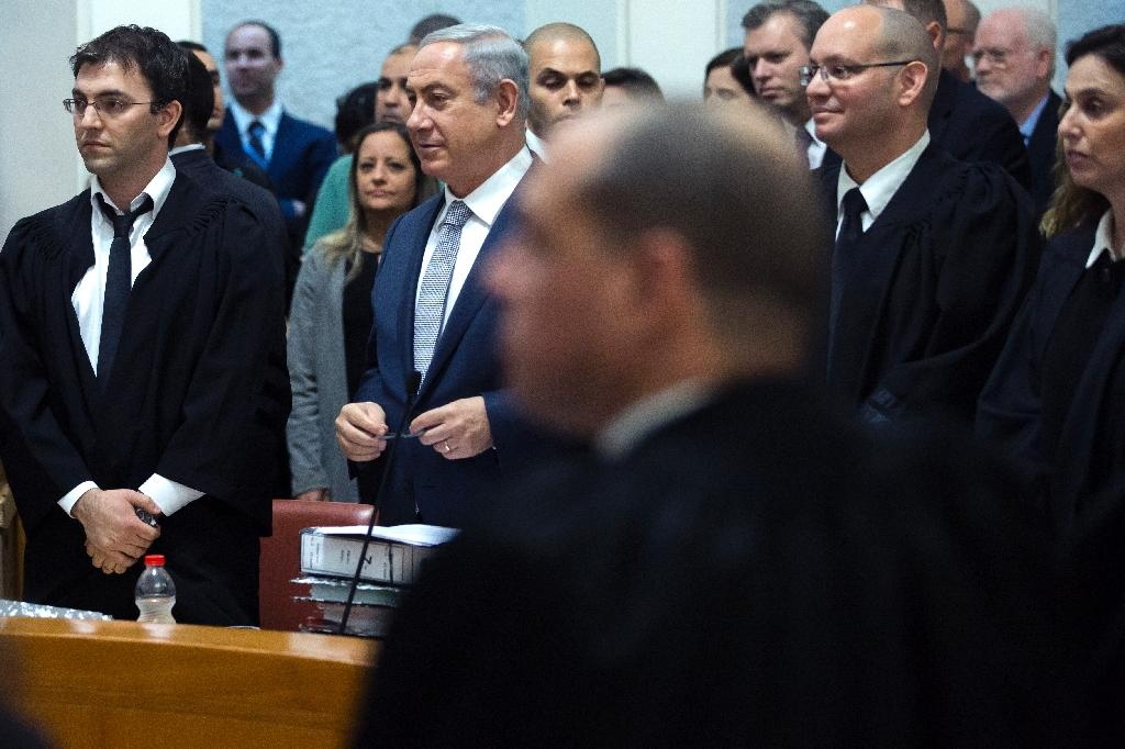 Israel PM in 'historic' Supreme Court plea for gas deal